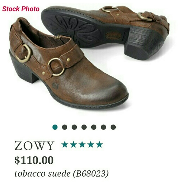 09d74637969 Born Shoes - Born Zowy Tobacco Suede Ankle boots SZ 12 Euro 42